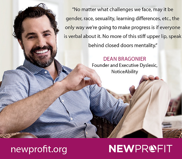 Interview with Dean Bragonier, Founder and Executive Dyslexic of NoticeAbility