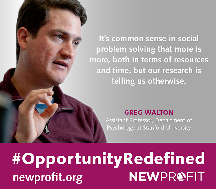 #OPPORTUNITYREDEFINED: INTERVIEW WITH GREG WALTON, ASSOCIATE PROFESSOR at STANFORD UNIVERSITY