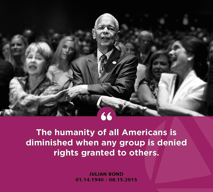 Remembering Julian Bond
