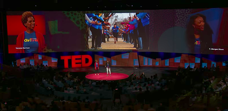 Girltrek, Members of New Profit's Inaugural Women's Accelerator Cohort, Discuss Black Women & Social Change at #TED2017