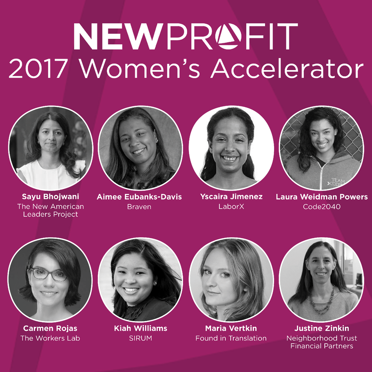 New Investments: Accelerating the Impact of Visionary Women Entrepreneurs