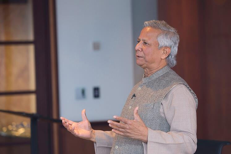 Nobel Laureate Yunus Joins Dialogue with New Profit, Deloitte, Yunus Social Business Centre about Future of Global Problem Solving