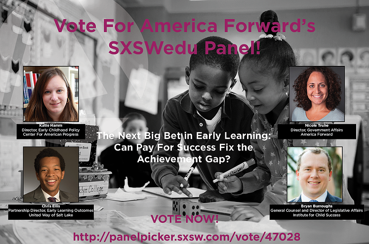 Send America Forward to SXSWedu!