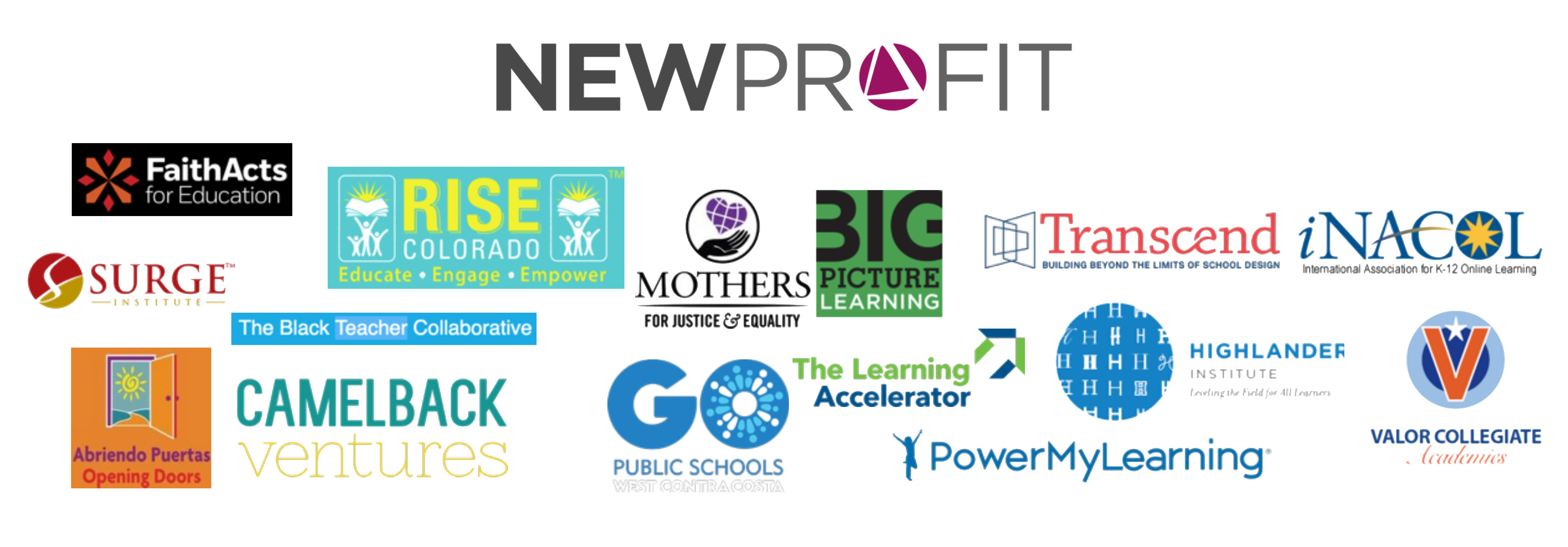 New Profit Launches Two Education Initiatives Aimed at Inclusive Social Entrepreneurship and Personalized Learning