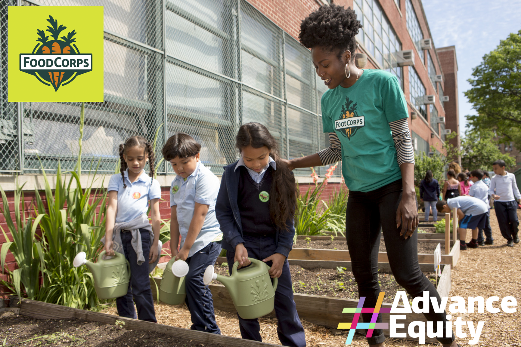 #AdvanceEquity: Spotlight on FoodCorps