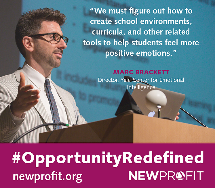 #OPPORTUNITYREDEFINED: Interview with Marc Brackett, Director of the Yale Center for Emotional Intelligence