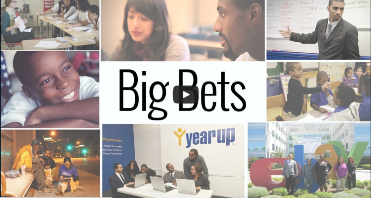NationSwell: Big Bets 8 Game-Changers Shake Things Up to Solve Our Country's Challenges