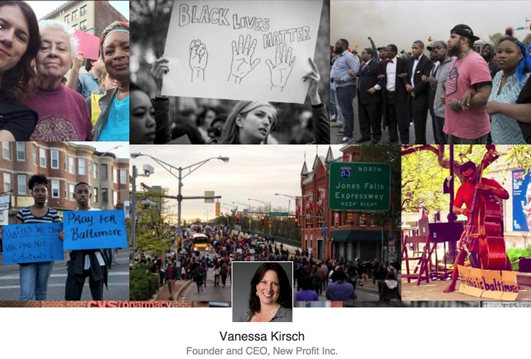 LinkedIn: Thinking Differently About Baltimore by Vanessa Kirsch