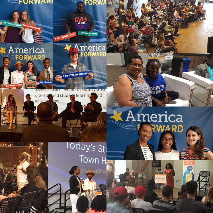 Presidential 2016: Highlighting Student Voices at our Today's Student Town Halls