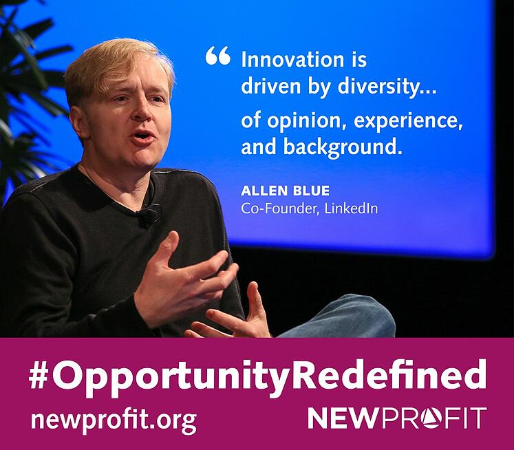 #OpportunityRedefined: Interview with LinkedIn's Allen Blue on Inclusion and Diversity
