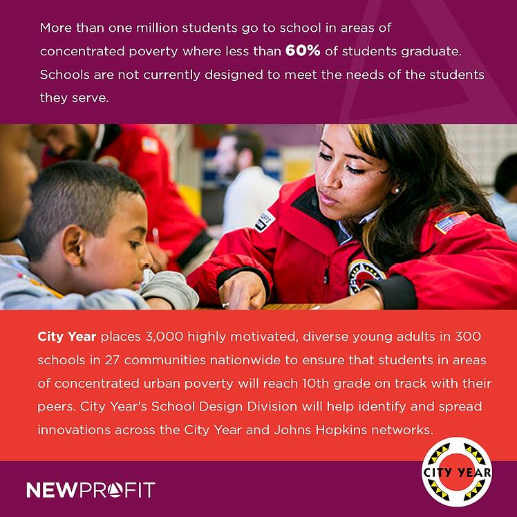 New Profit Makes Significant Operating Investment in City Year
