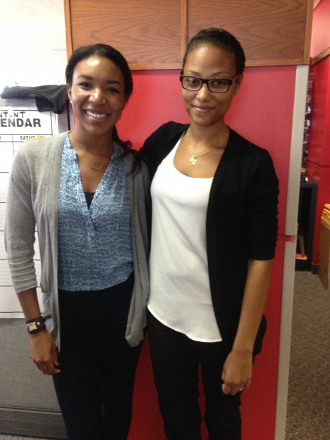 New Profit Welcomes Interns Emani Holyfield and Sarah Duarte