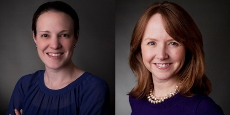 Kathryn Price and Jennifer Anderson celebrate 10 years with New Profit!