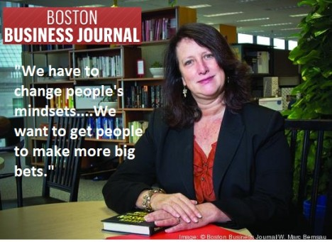 Vanessa Kirsch Interview Featured in Boston Business Journal Today