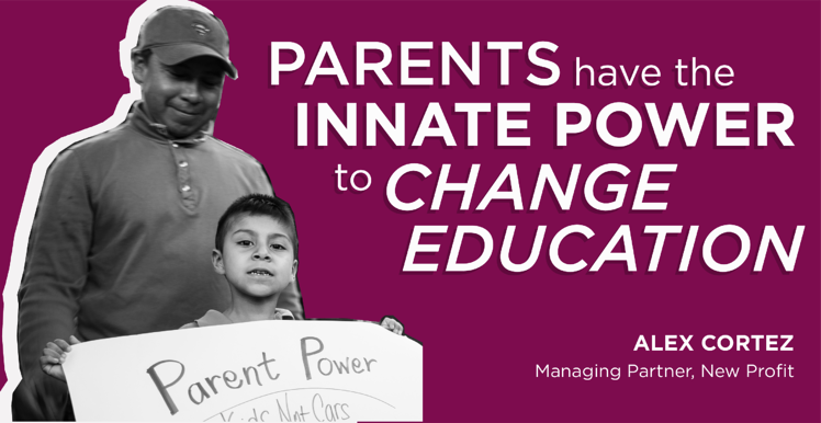 New Profit Launches Parent Empowerment in Education Website