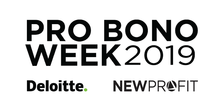 Pro Bono Week 2019: Celebrating Deloitte